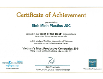 Vietnam's the most productive companies