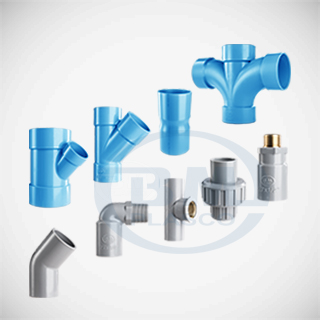 uPVC fittings metric series